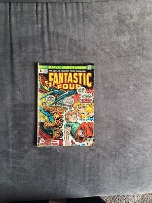 Fantastic Four Marvel Comic No141 1973 Issue