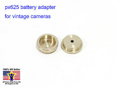1pcs PX625 Film Camera Battery Adapter for QL17 OM1 ROLLEI 35