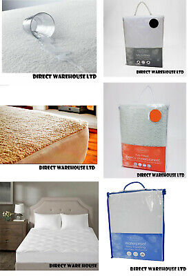 All Mattress Protectors,single,double,king,super King, 4 Feet & Pillow Protector