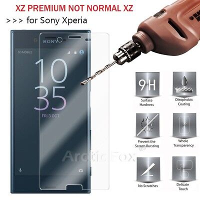 Sony Xperia XZ Premium 100% Genuine Gorilla Tempered Glass  Screen Protector