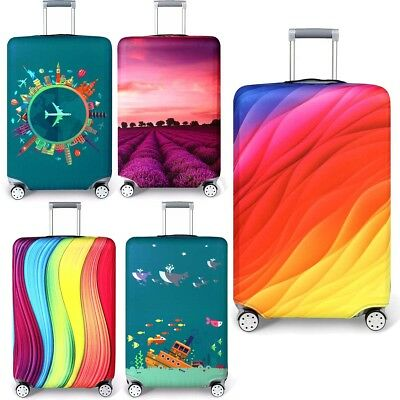 """Elastic Thicker Travel Luggage Cover Suitcase Dust-proof Protector Case 18-32"""""""