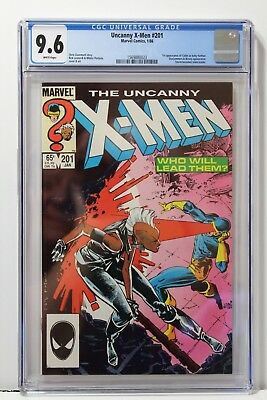 The Uncanny X-Men #201 (Jan 1986, Marvel) CGC 9.6 1st Cable as Baby Nathan!