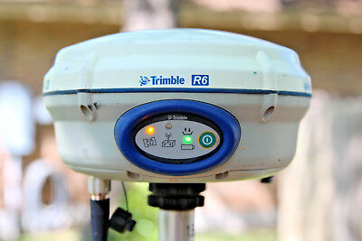 Trimble R6 Glonass GNSS GPS Survey 450-470MHz RTK Receiver Base or Rover