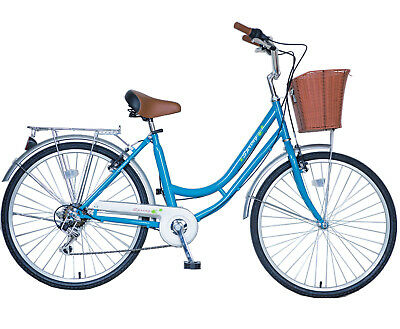 26'' 6 speeds Women Ladies Girls City Dutch Shopper Bicycle Bikes Warranty Sales