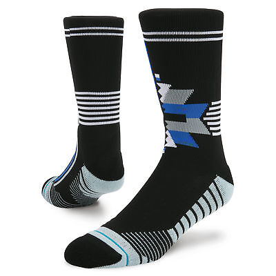 STANCE NEW Forces Crew Training Socks Black BNWT