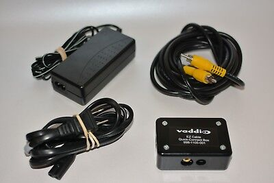 Vaddio EZCable Quick connect box 998-1105-001 & Power Supply with Sony cameras
