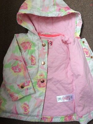 Ted Baker Baby Girls Coat Jacket Size 9-12 Months Vgc