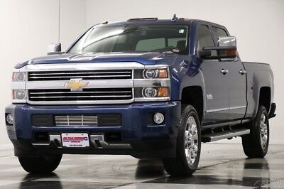 Chevrolet Silverado 2500 High Country 2015 High Country Used Turbo 6.6L V8 32V Automatic 4WD Pickup Truck OnStar Bose