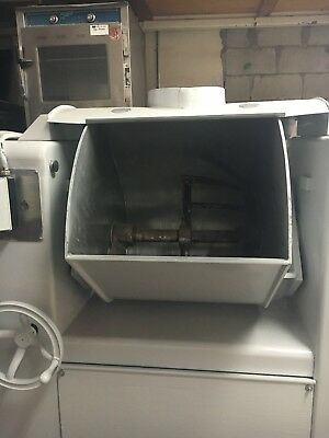 Triumph Barrel mixer 250lbs horizontal dough bakery workhorse bread crusty rolls