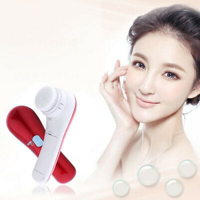Electronic Face Cleansing Brush Facial SPA Skin Care Massage Multifunction
