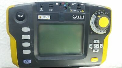 CA6116  chauvin-arnoux tester multimeter  without battery and charger