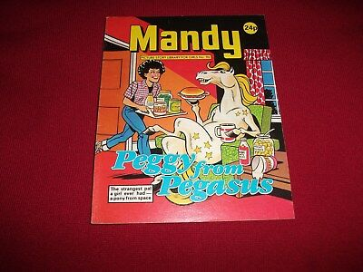 MANDY  PICTURE STORY LIBRARY BOOK  from 1980's - never been read -  ex condit!