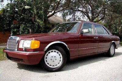 1990 Mercedes-Benz 300-Series  1990 MERCEDES-BENZ 300 SERIES 300 SEL! ONLY 51K LOW MILES!  1 OWNER! FLORIDA!
