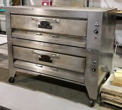 Montague Company 25P-2 Gas Pizza Oven, Deck-Type