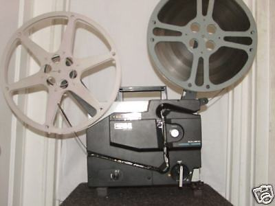 ELMO 16mm TELECINE 5 BLADE PROJECTOR .