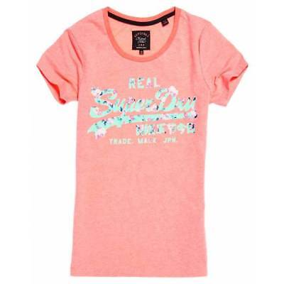 T-shirt Superdry femme vintage logo cutout entry