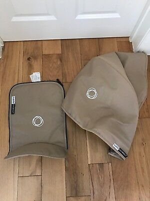 Bugaboo Cameleon Fabric Set Hood and Carrycot Apron In Sand Beige