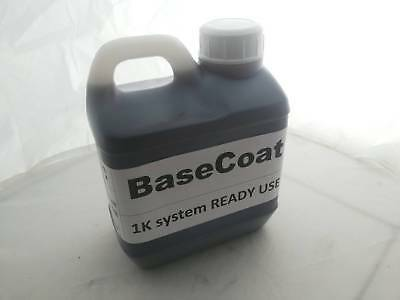 1000ml Base Coat for Spray on Chrome System