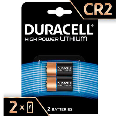 Genuine 2X Duracell Ultra Cr2 3V Digital Photo Camera Battery Elcr2 2026 Expiry