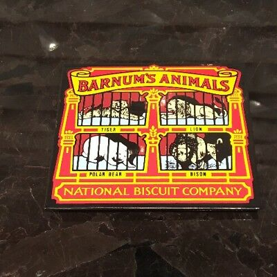 National Biscuit Company Barnum's Animals Cookies Magnet Nabisco