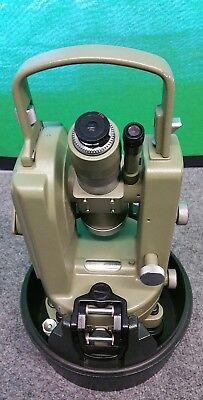 Wild Heerbrugg T-16 Theodolite Vintage with Case Survey Transit Scale Swiss made