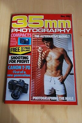Vintage 35mm PHOTOGRAPHY Magazine May 1984 in colour
