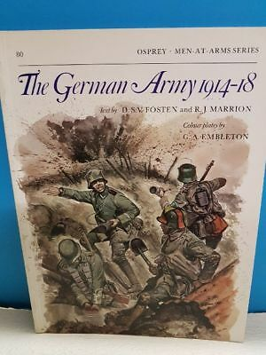 Osprey_Men-At-Arms Series 80_The German Army 1914-18