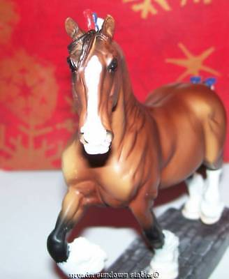 Breyer Collectable Horses Breeds of the World Artist Resins Clydesdales