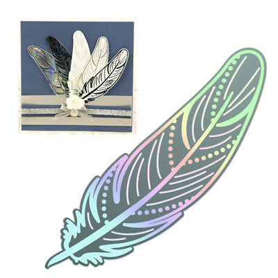 Couture Creations Cut and Foil Die - Nouveau - Delicate Feather CO725839