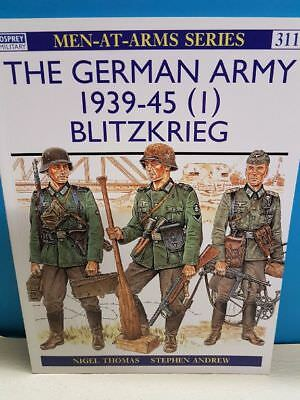 Osprey_Men-At-Arms Series 311_The German Army 1939-45 (I) Blitzkrieg