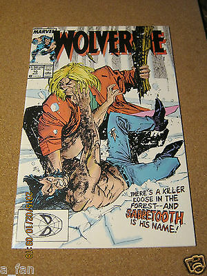 Wolverine Vol. 2 # 10 Marvel August 1989 Awesome John Buscema cover Sabretooth