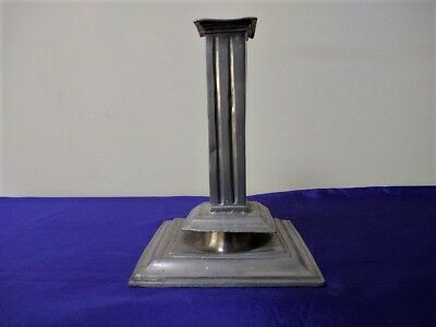 Pewter Candlestick of 17th Century Design.