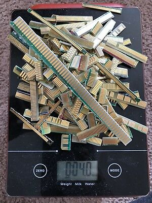 4oz  Computer High Grade Gold Fingers Double Sided For Scrap Gold Recovery