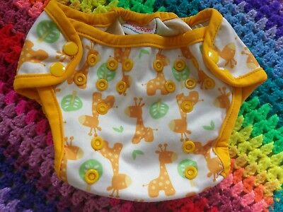 Blueberry nappy wraps Reusable nappy covers giraffes and cow print