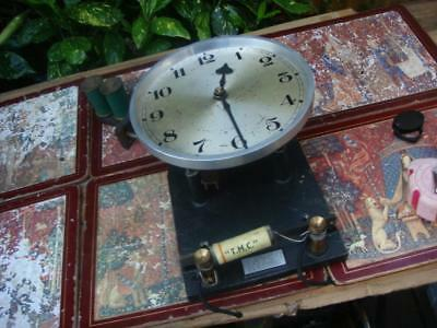 clock parts  Just  Electric Clock  Movement For Restoration  or Spare  Repair