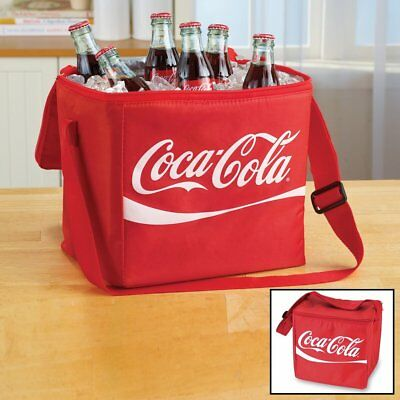 COCA COLA COKE WAVE 12 can COOLER BAG   NEW!