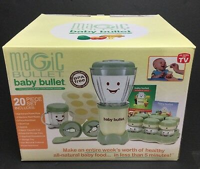 Magic Bullet Baby Care Food Making Blending System, 20 Piece Set