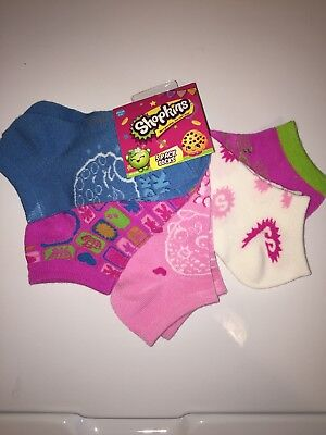Shopkins 5-pk. No-Show Socks Size 6-8.5