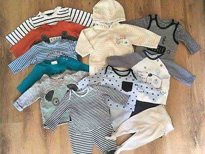 Huge Bundle Baby Boys Clothes Tops And Leggings Newborn First Size