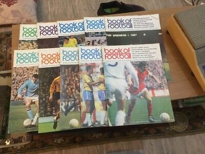 10 X Book Of Football Magazines