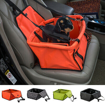 Blesiya Pet Car Seat Carrier Travel Kennel Folding Carrier Bag with Safety Leash