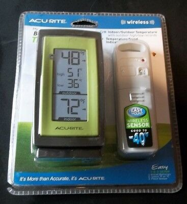 ACURITE My Backyard Weather Thermometer Wireless Outdoor NEW!