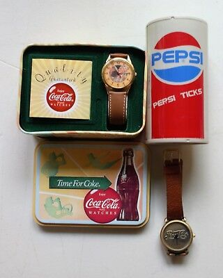 Coca Cola & Pepsi Collector's Watches By Armiton