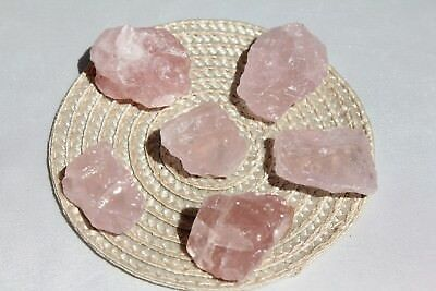 Rose Quartz 💖 6 Pieces AAA Quality (Love Manifestation & Grids)