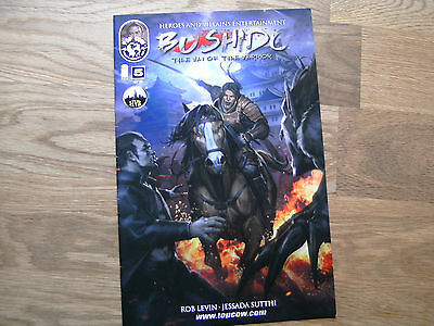TOP COW Bushido graphic comic iss #5 Oct 2013 NEW! Levin Sutthi IMAGE The Way Of