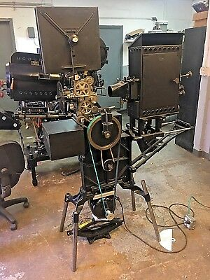 Powers 6B 35mm Movie Theater Projector Early 20th Century Museum Quality!