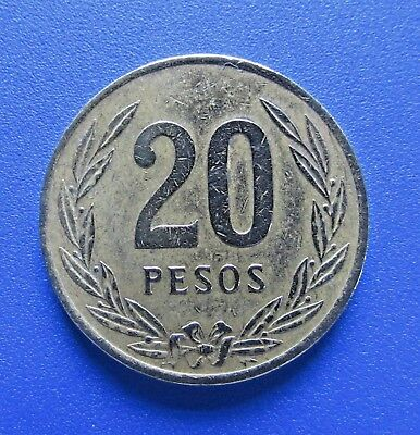 Colombia 20 Pesos, 1982 - FREE DOMESTIC SHIPPING
