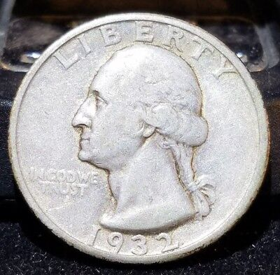 1932-S Washington Quarter, Key Date San Francisco Issue