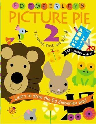 Ed Emberley's Picture Pie Two by Ed Emberley 9780316789806 (Paperback, 2005)