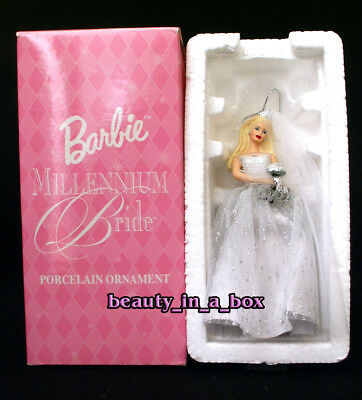 Millennium Bride Porcelain Avon Ornament Barbie